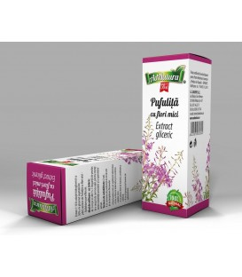Extract gliceric Pufulita cu flori mici, 50 ml