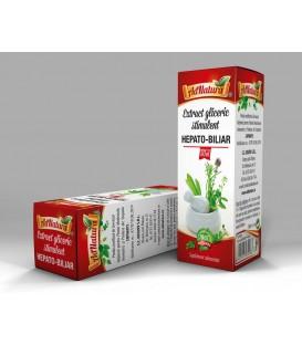 Extract gliceric Stimulent hepato-biliar, 50 ml