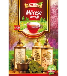 Ceai din fructe intregi de macese, 50 grame