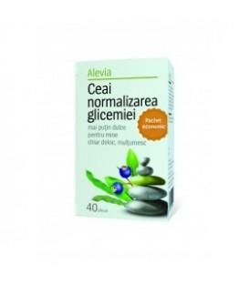 Ceai pentru normalizarea glicemiei, 40 doze