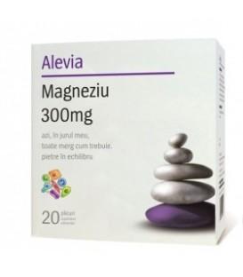 Magneziu 300 mg, 20 doze