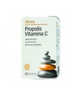 Propolis cu Vitamina C, 40 capsule masticabile