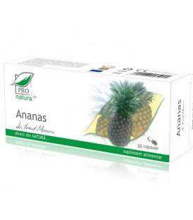 Ananas, 30 capsule