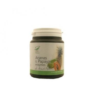 Ananas & Papaya enzymes, 100 tablete