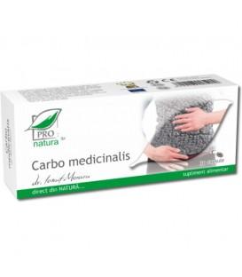 Carbo Medicinalis, 30 capsule
