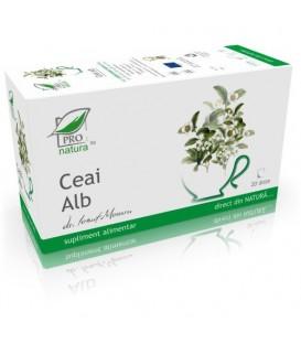 Ceai Alb, 20 + 5 doze (promotie)