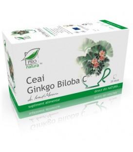 Ceai Ginkgo Biloba C, 20 + 5 doze (promotie)