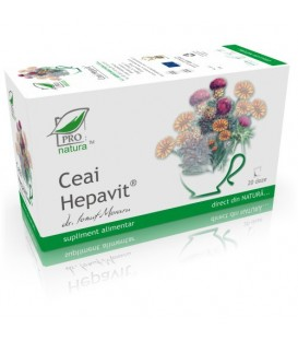 Ceai Hepavit, 20 + 5 doze (promotie)
