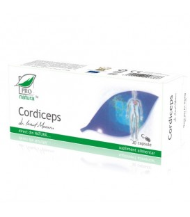 Cordiceps, 30 capsule