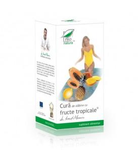 Cura de Slabire cu Fructe Tropicale − Exotica, 168 tablete