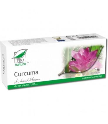 Curcuma, 30 capsule