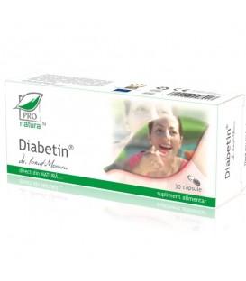 Diabetin, 30 capsule