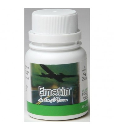 Emetin, 25 capsule